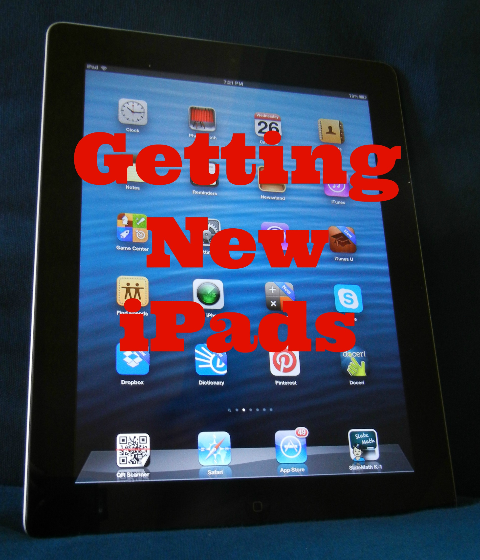 Getting new iPads