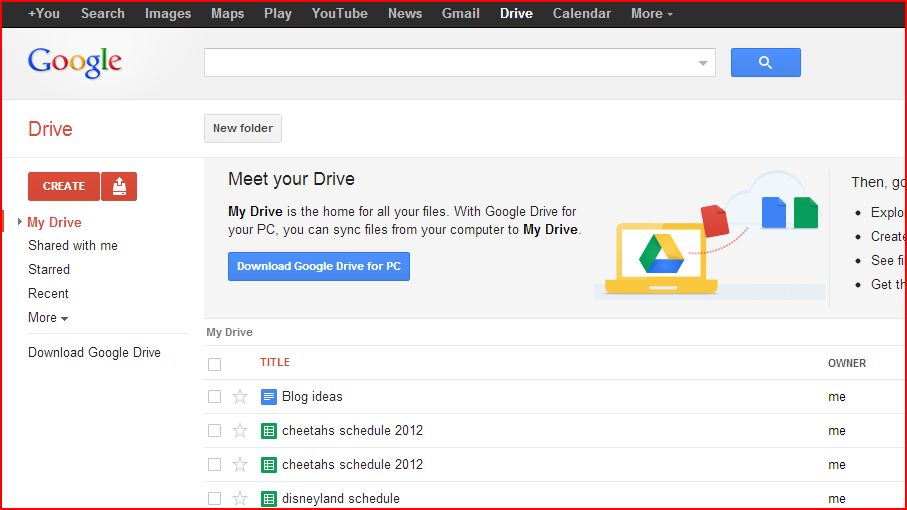 Google Drive  How To Create A Signup Sheet
