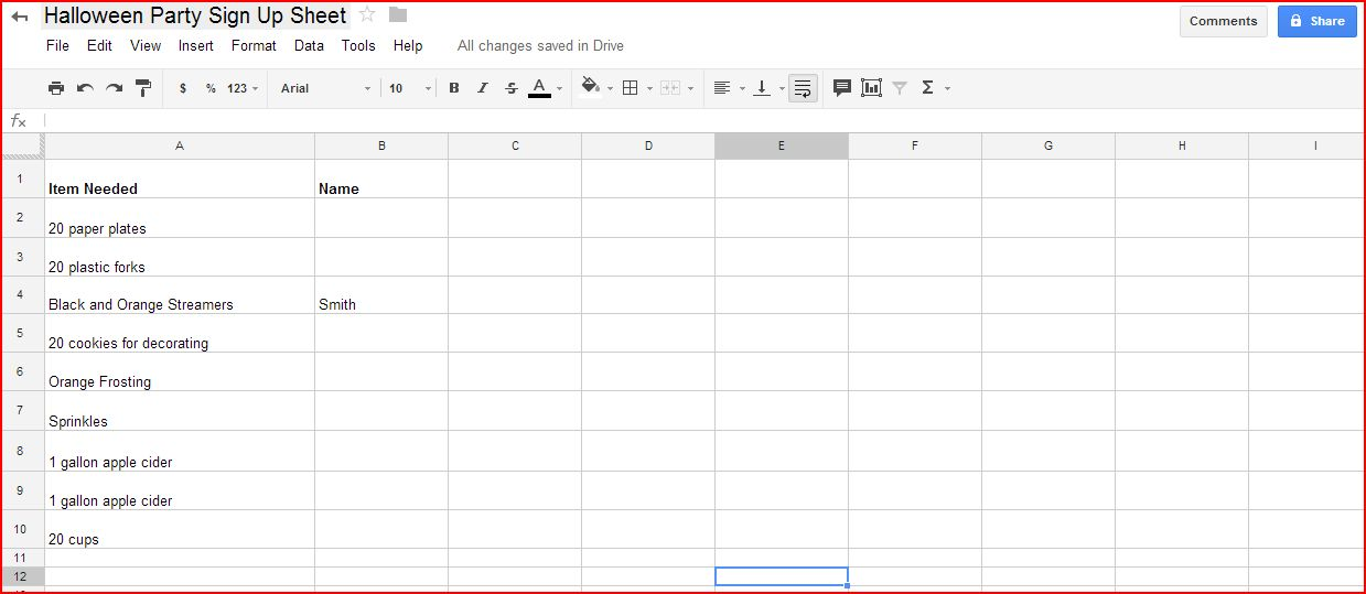 How to create a digital sign up sheet with Google Drive ...