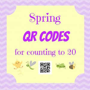Spring QR Codes Cover