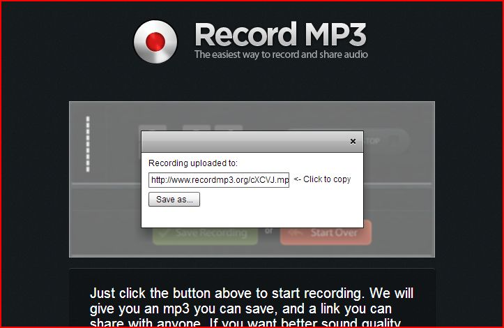 record mp3 image