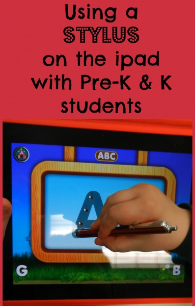 using a stylus on the ipad with Pre-K & K students.jpg