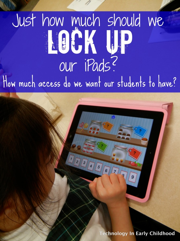 Should we lock iPads-