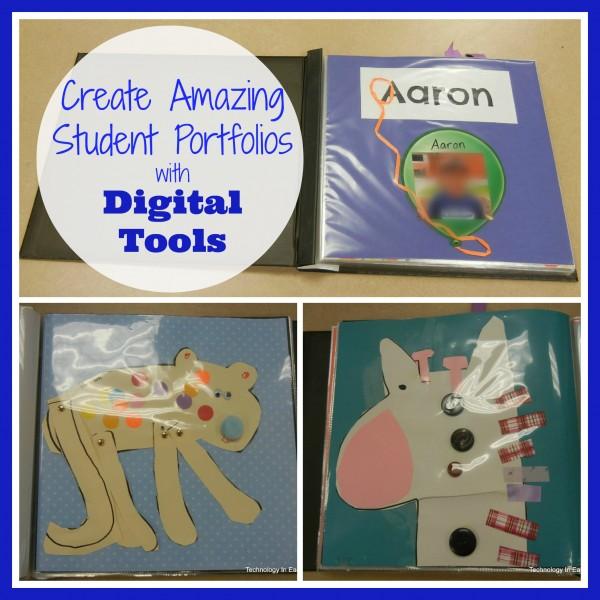 Using Digital Tools To Create A Portfolio For Your