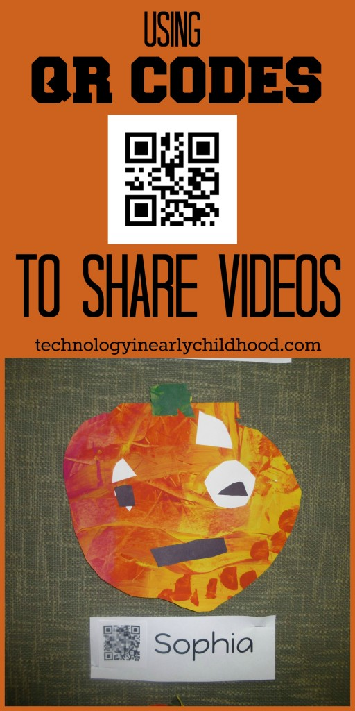 Using QR Codes to Share Videos