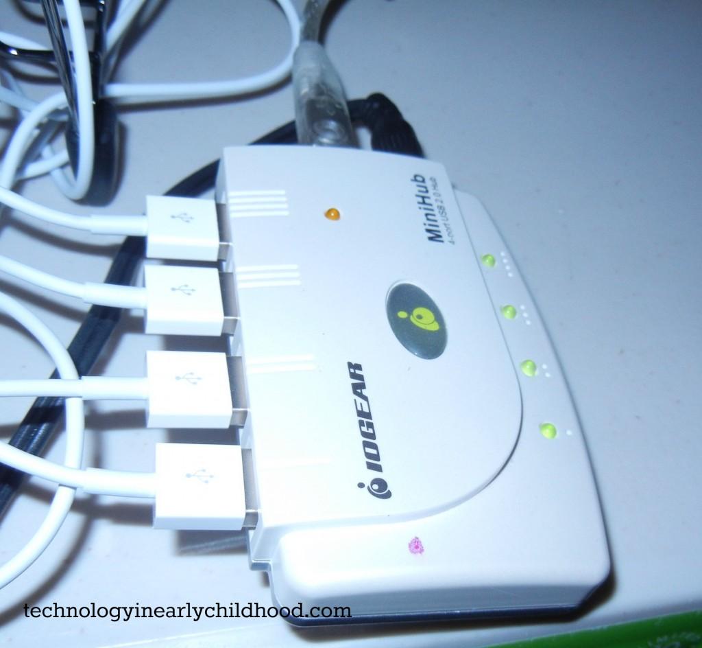 USB HUB  technologyinearlychildhood.com