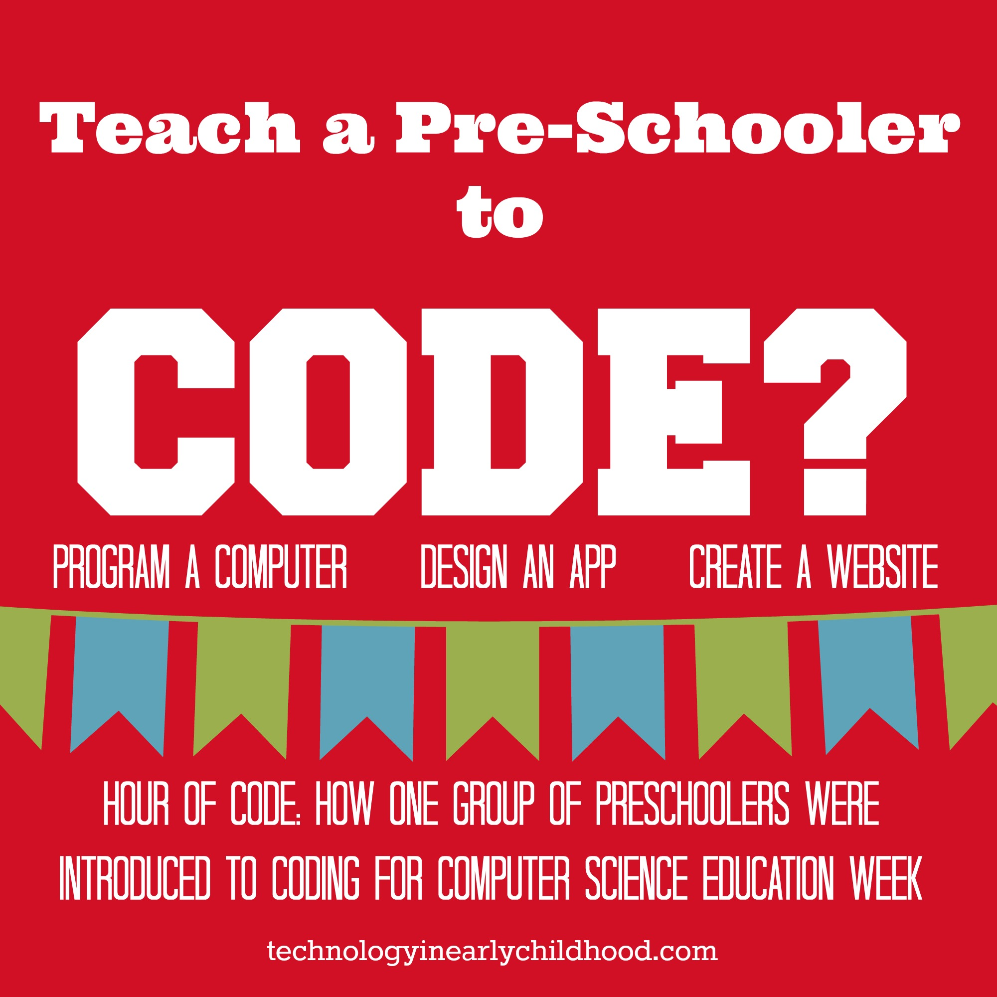 Hour of Code: How one group of preschoolers were introduced to coding for computer science education week.