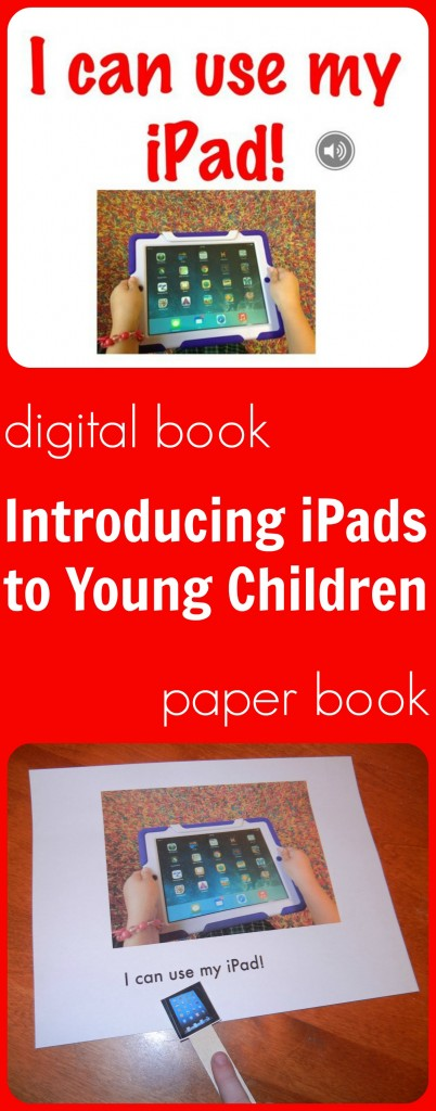 introducing young children to ipads-red