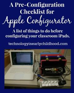 Pre-Configuration Checklist