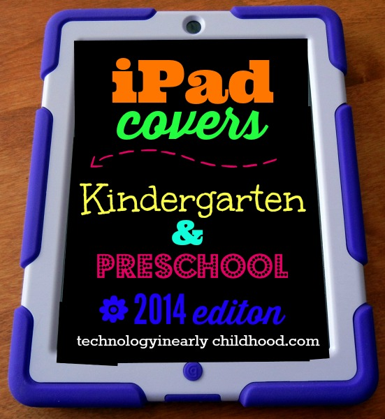iPad covers Pre-K Kindergarten